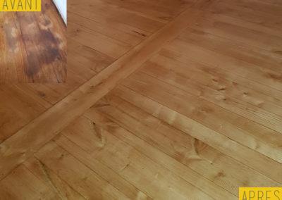 Nettoyage parquet maison - PL nettoyage Services à Savignac