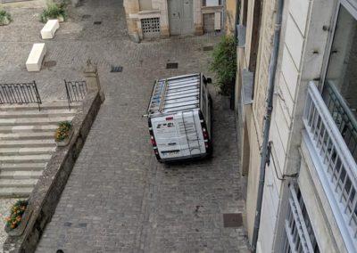 Nettoyage de vitres sur bâtiment public à Villefranche de Rouergue